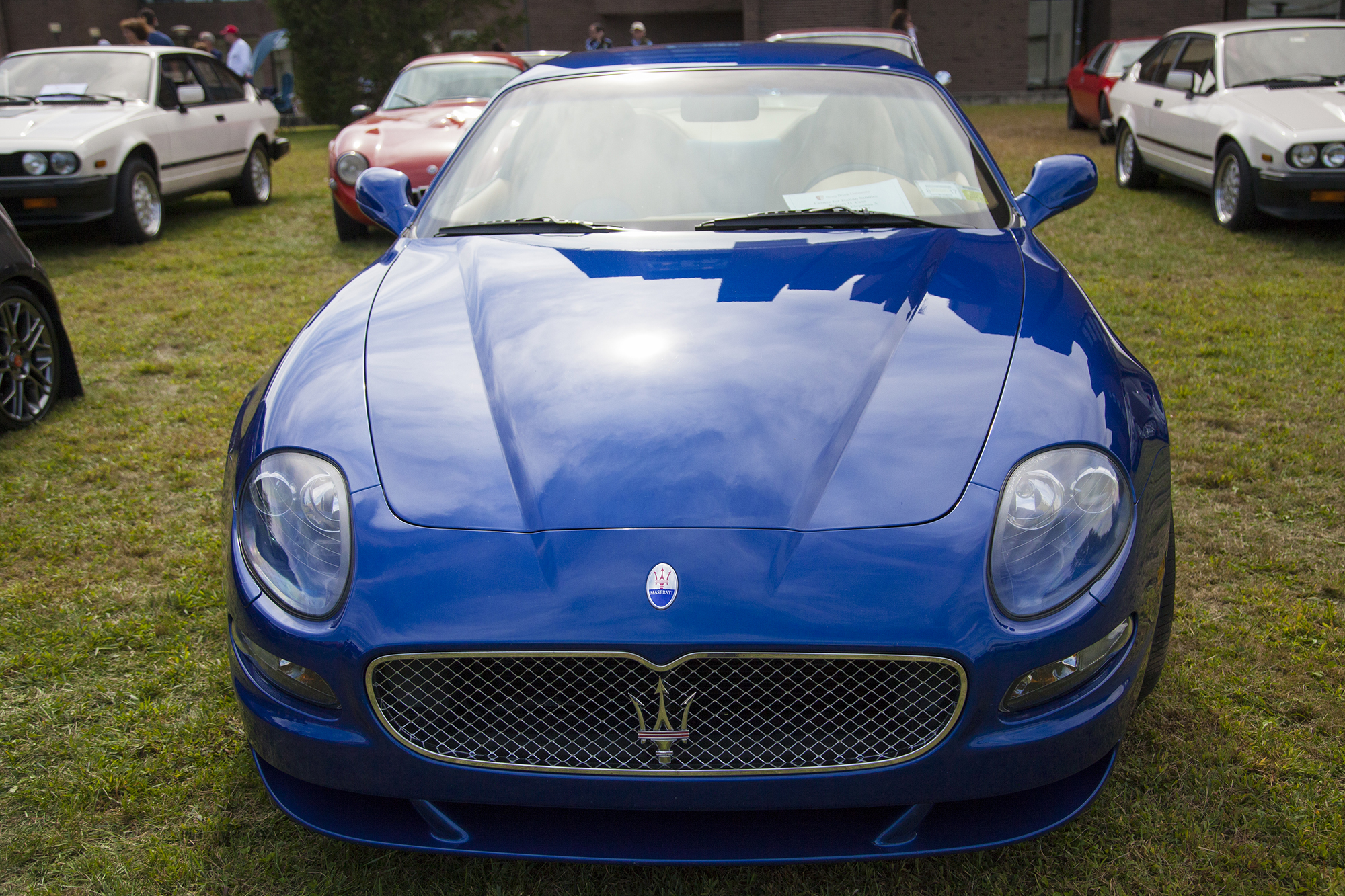 A 2005 Maserati GranSport at the Concorso d'Eleganza X. GISELLE MIRANDA/THE STATESMAN