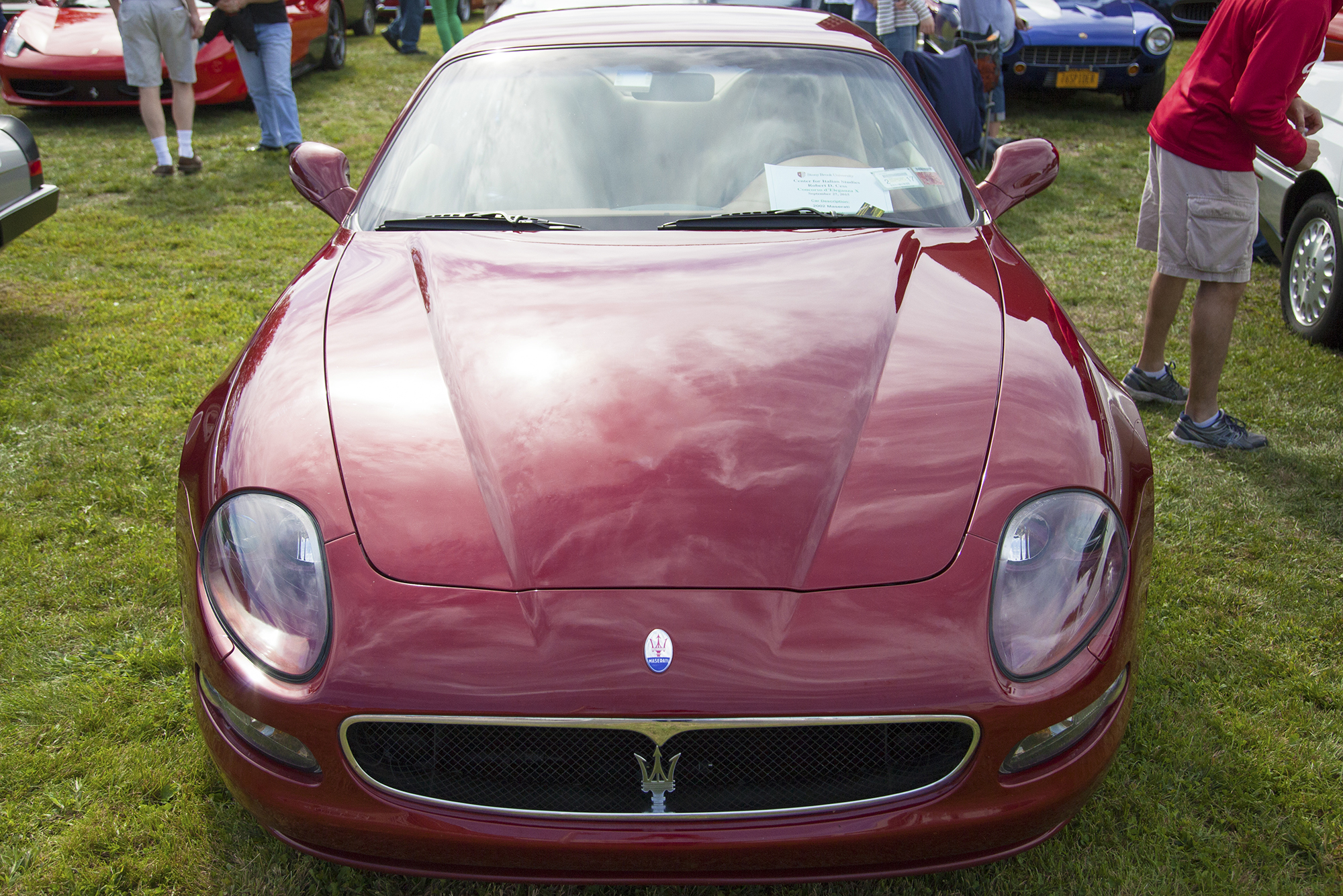 A 2002 Maserati Coupe at the Concorso d'Eleganza X. GISELLE MIRANDA/THE STATESMAN