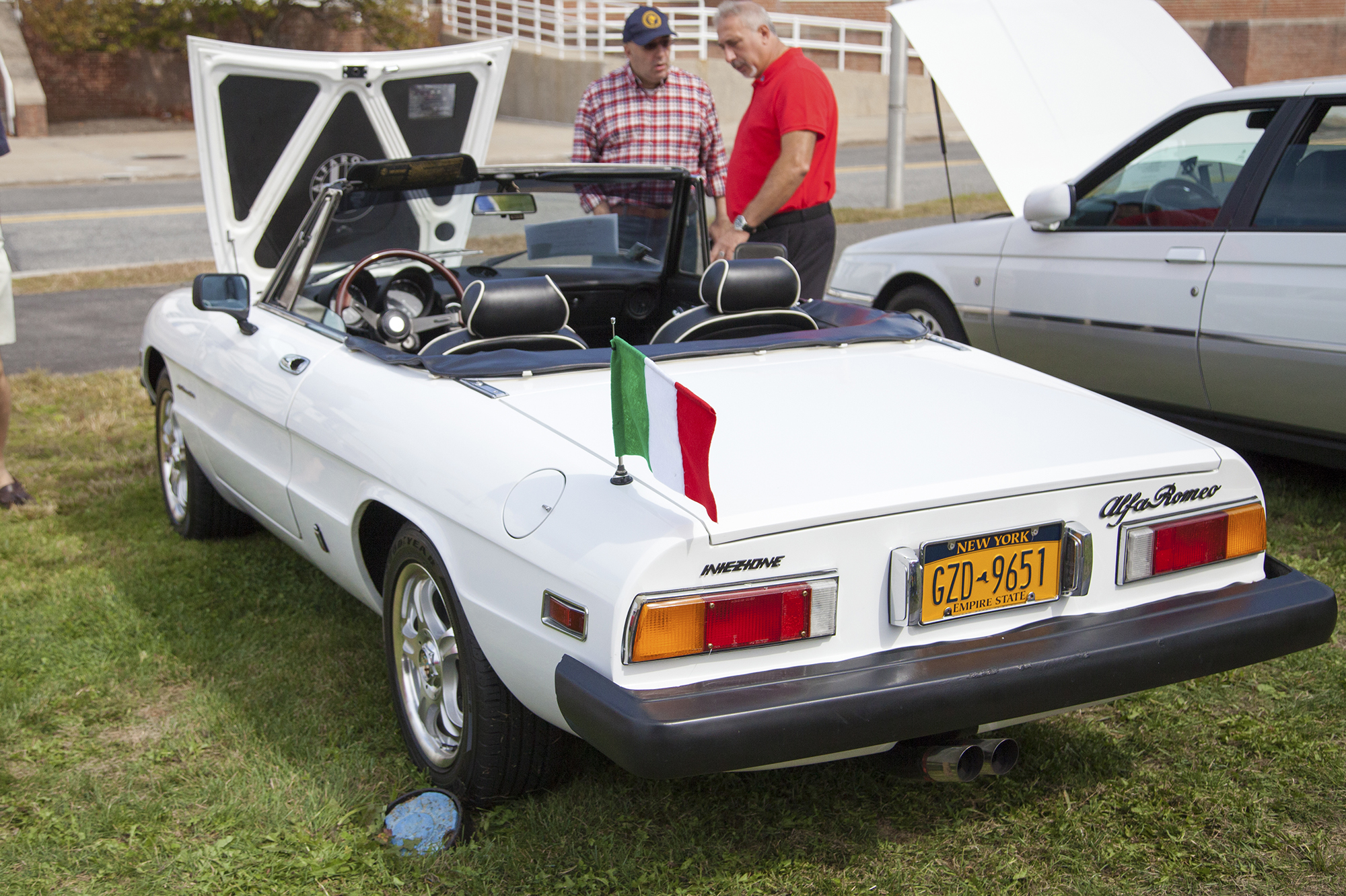 A 1978 Alfa Romeo Spider at the Concorso d'Eleganza X. GISELLE MIRANDA/THE STATESMAN
