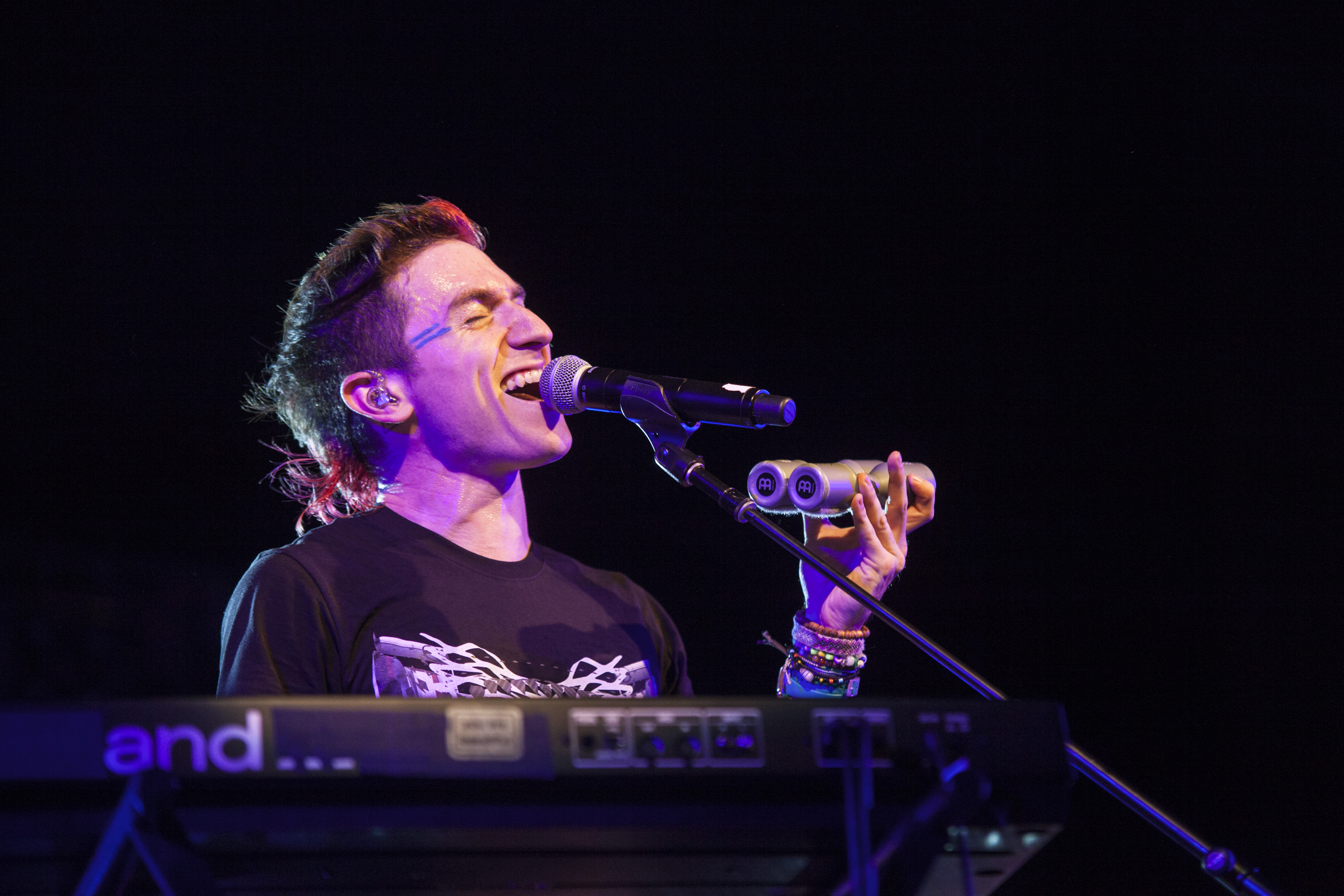 Walk the Moon performed at Stony Brook for Back to the Brook 2015. KRYSTEN MASSA/THE STATESMAN