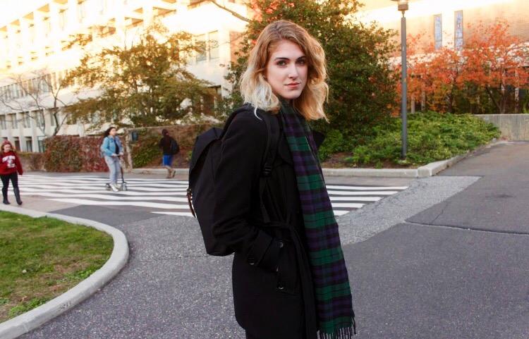 Jaclyn McElroy, junior chemistry major. <em>RAWSON JAHAN/THE STATESMAN</em>