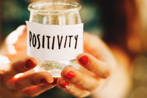 Staying positive can help reduce stress, something that is rampent on campus druing finals season. MartaZ*/FLICKR VIA CC BY 2.0