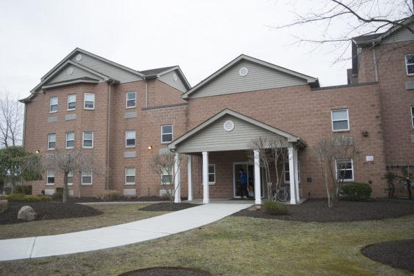 A dorm building at Brookhaven Village. LUIS RUIZ DOMINGUEZ/THE STATESMAN