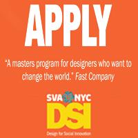 SVA Masters program, apply now