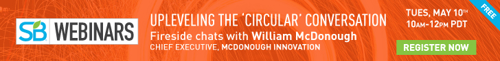 Complimentary Webinar with Bill McDonough! 5/10, 10am-12pm PDT!