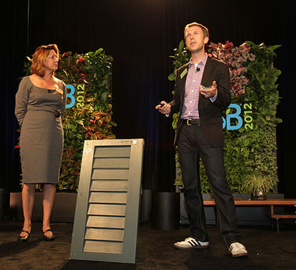 PlanetReuse MarketPlace pitching at SB Innovation Open 2012