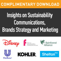 [Complimentary Download] Insights on Sustainability Communications, Brand Strategy and Marketing