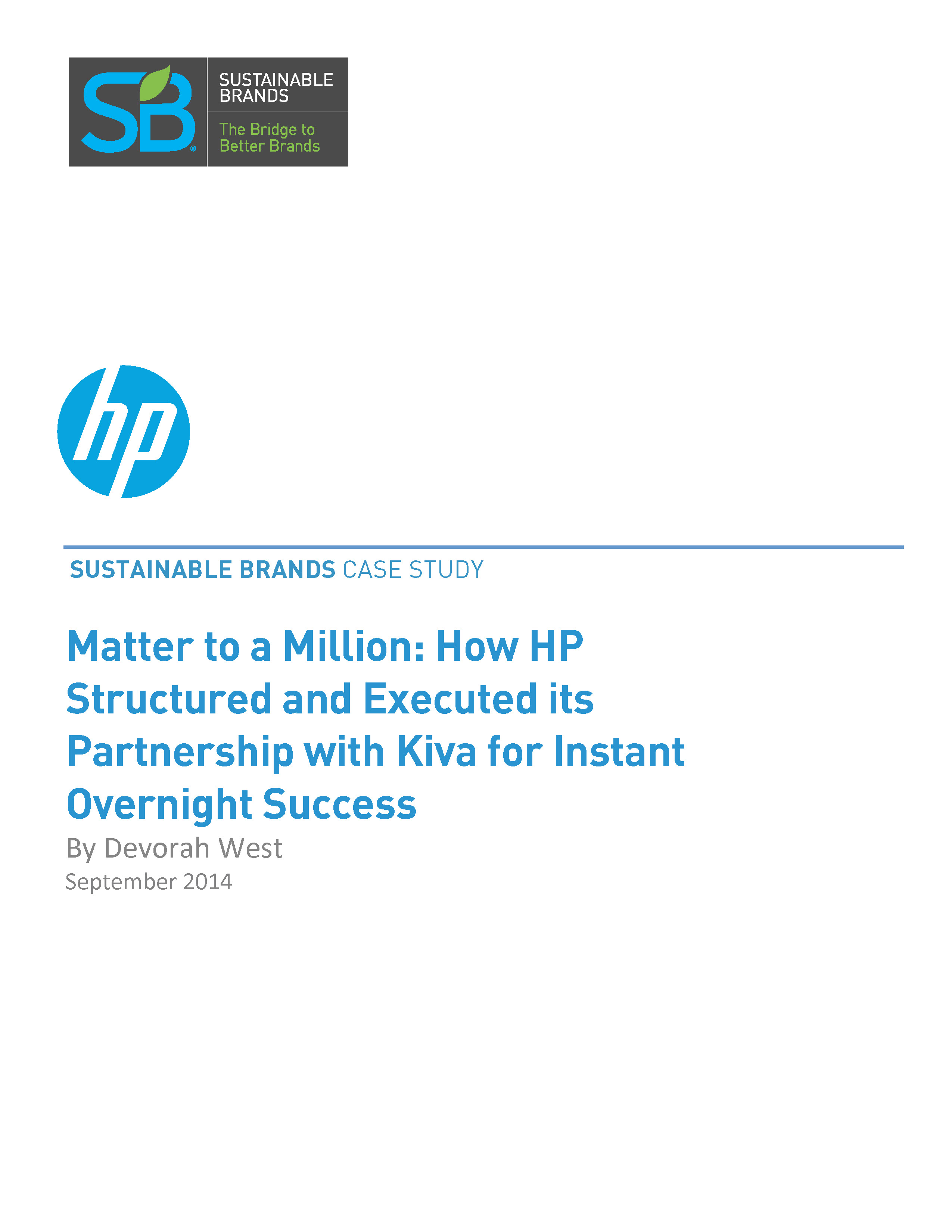 hp case study Hp case study 1 the structural problem that hp had was their organizational structure hp became so large that their tall structure became so deep that information was delayed.