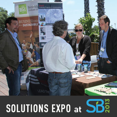 Solutions Expo at Sustainable Brands 2013
