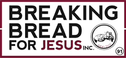 Breaking bread for jesus