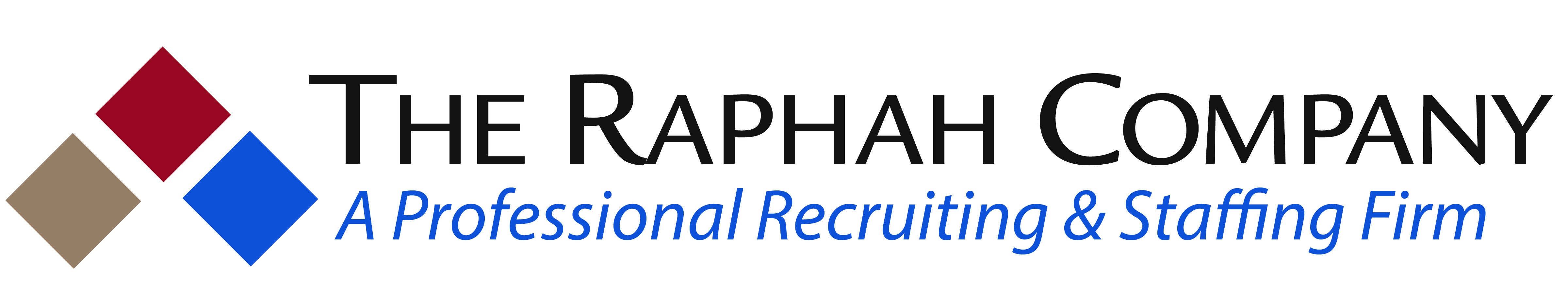 The raphah company logo 16inw rev recruiting crop