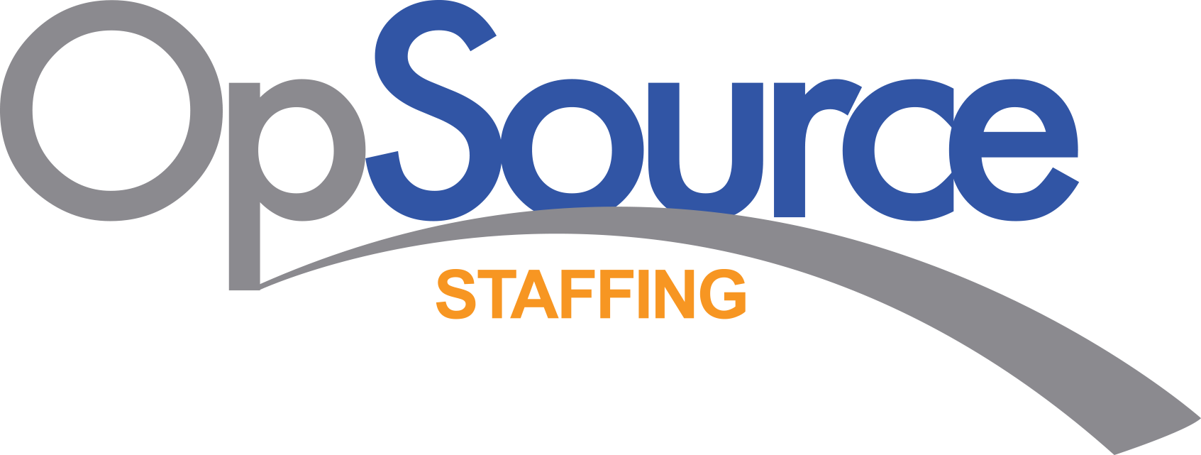 Opsource staffing logo caps