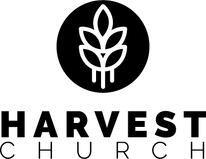 Harvest logo 2 line circle on top black