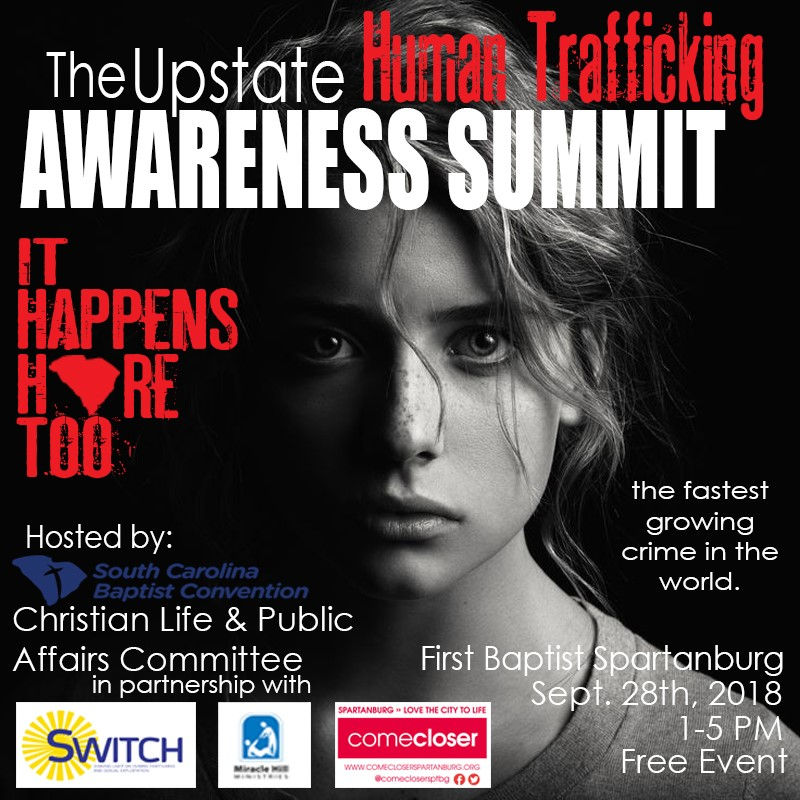 Human trafficking conference 2018