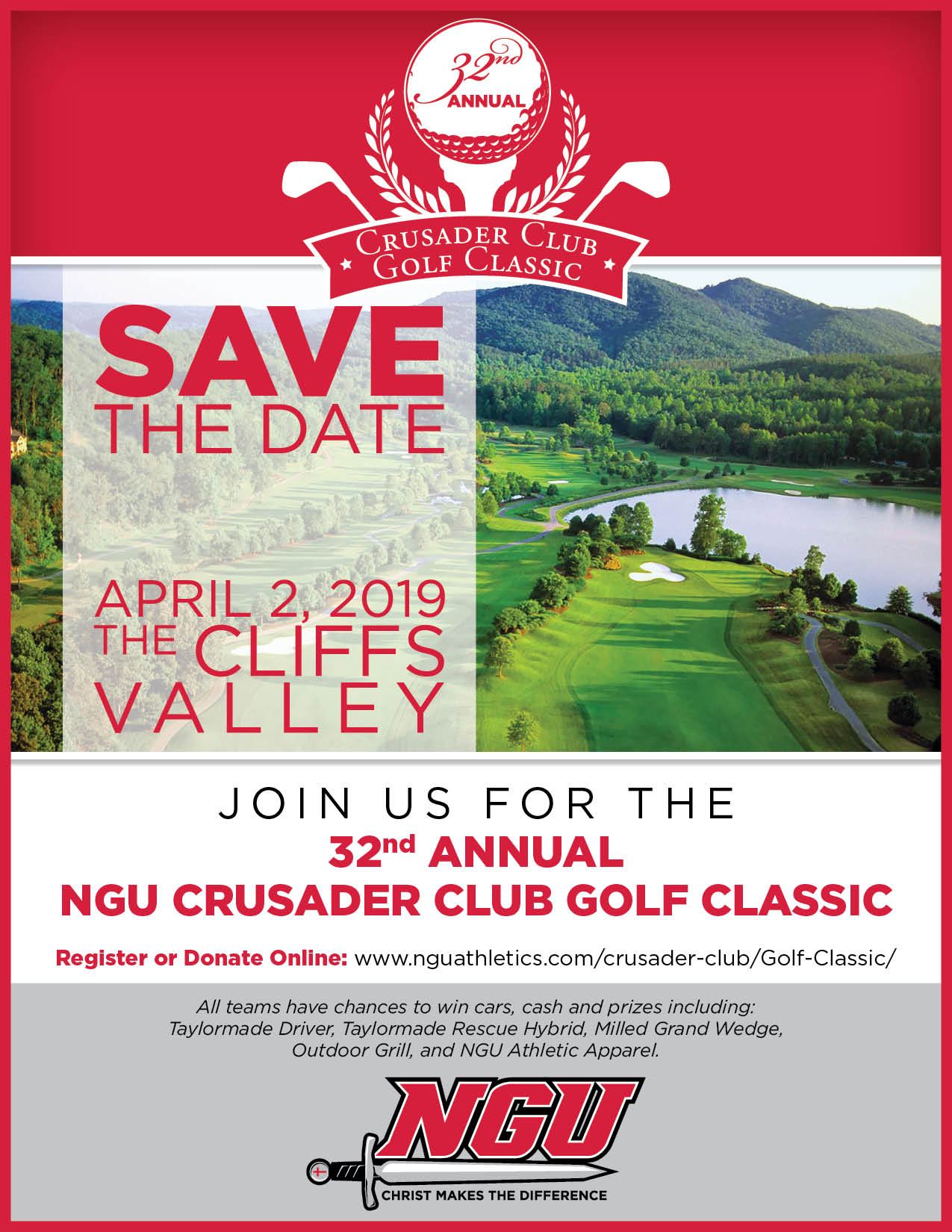 Ngu crusader club 32nd save the date eblast 2019  3