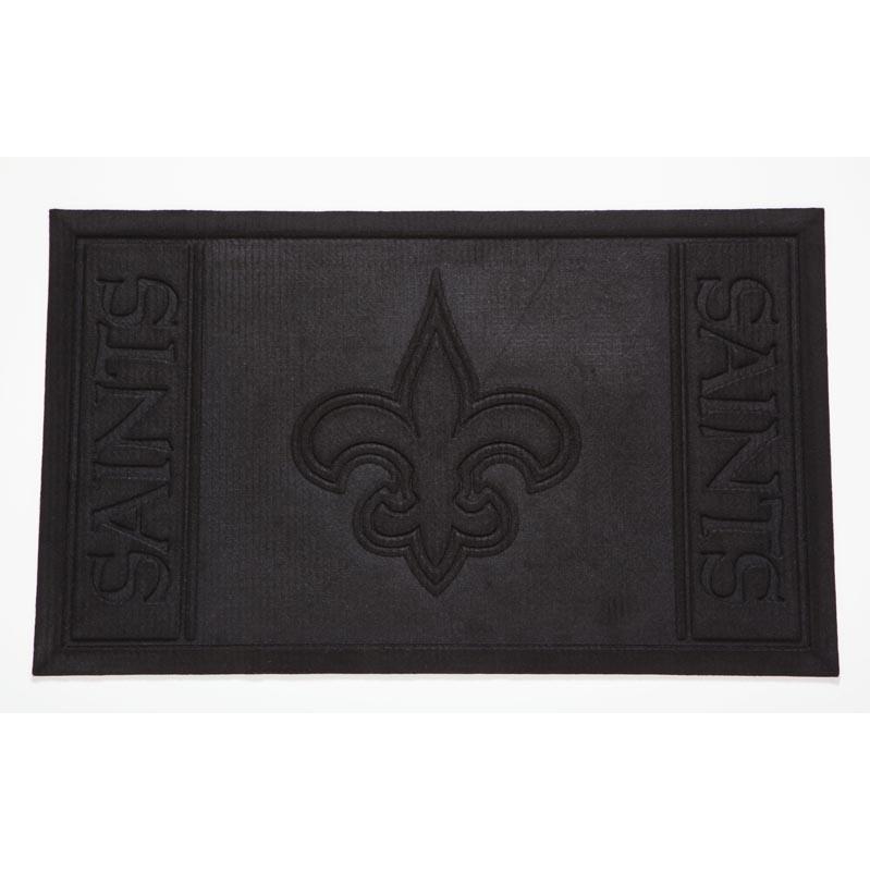 Evergreen Absorbent Team Entrance Mat - New Orleans Saints