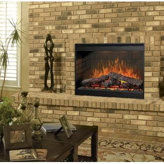 Dimplex DF3015 30-Inch Self-Trimming Electric Firebox With Purifire