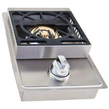 Lion Stainless Steel Drop In Natural Gas Single Side Burner Lion Stainless Steel Drop-In Natural Gas Single Side Burner