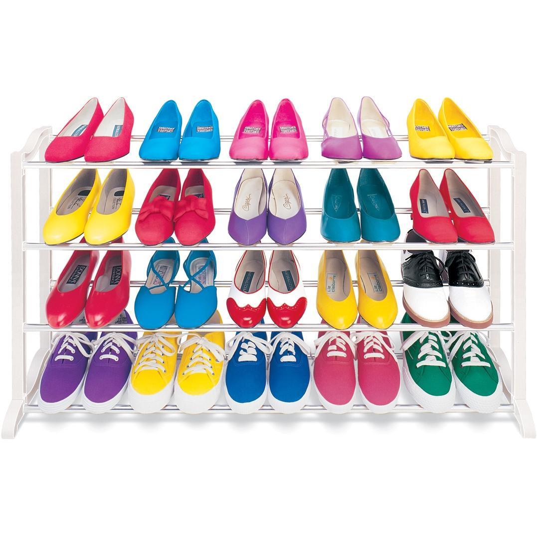 Lynk 20 Pair Shoe Rack - 145904DS