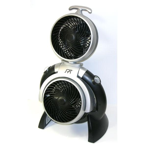 Sunpentown High Velocity Dual Fan, 10 Inch - FSQQ