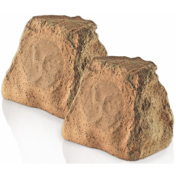 Picture of OSD Audio 5 1/4 Inch Outdoor Rock Speakers - Brown