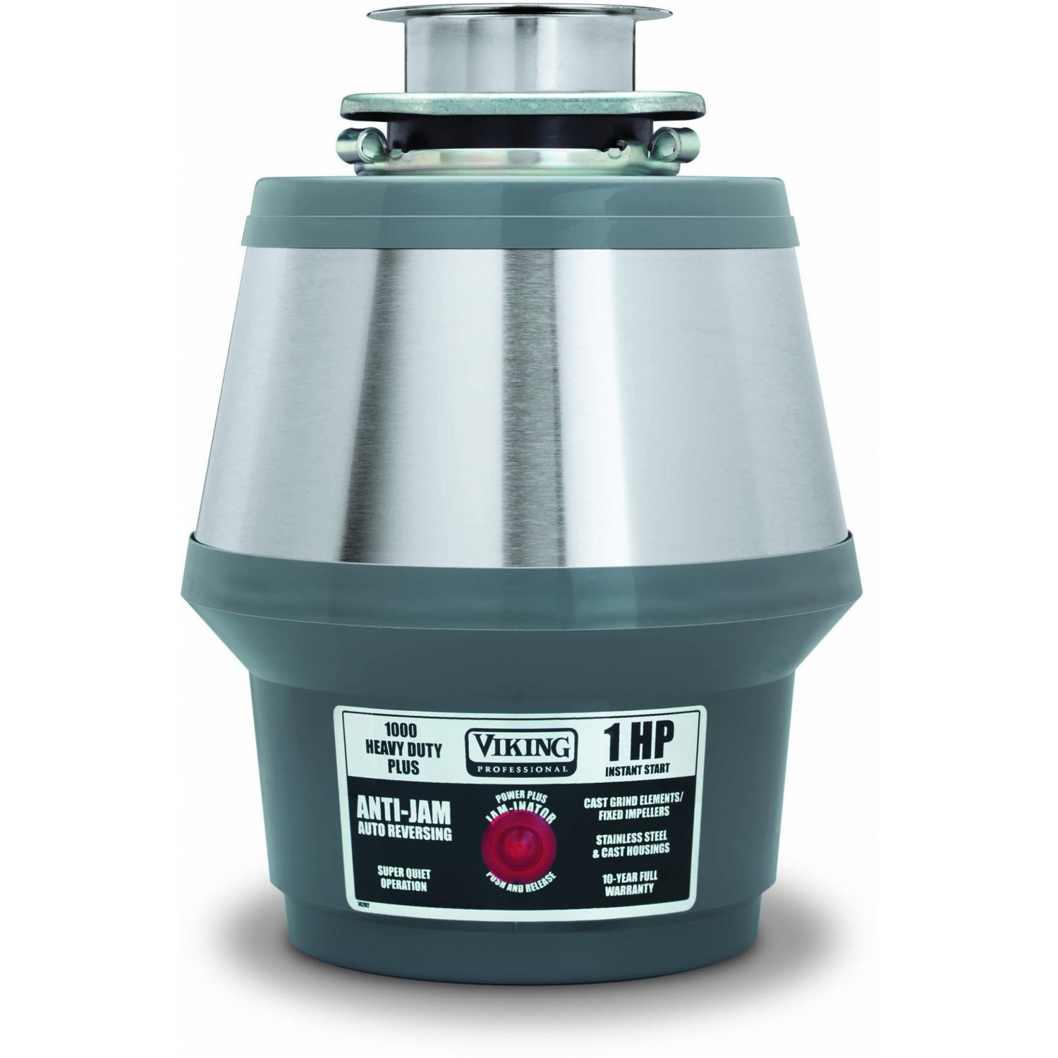 Viking VCFW1000 1 HP Continuous Feed Food Waste Disposer