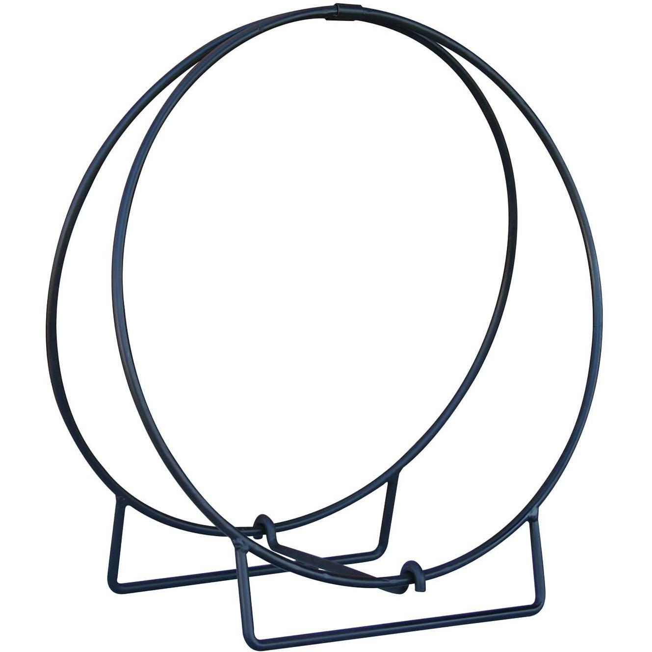 UniFlame 36 Inch Black Log Hoop