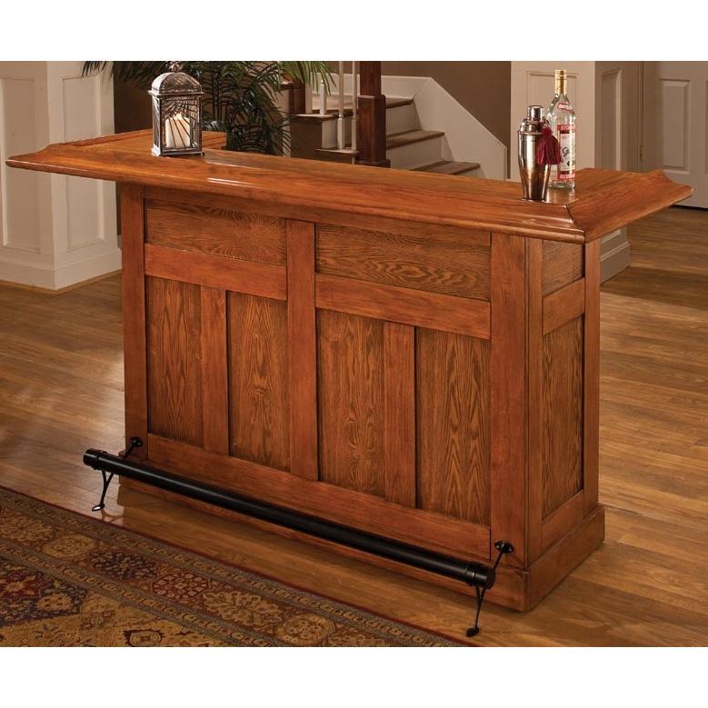 Hillsdale Classic Oak Large Bar - Oak - 62576AOAK