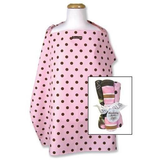Trend Lab Nursing Cover And Burp Cloth Set - Maya Dot