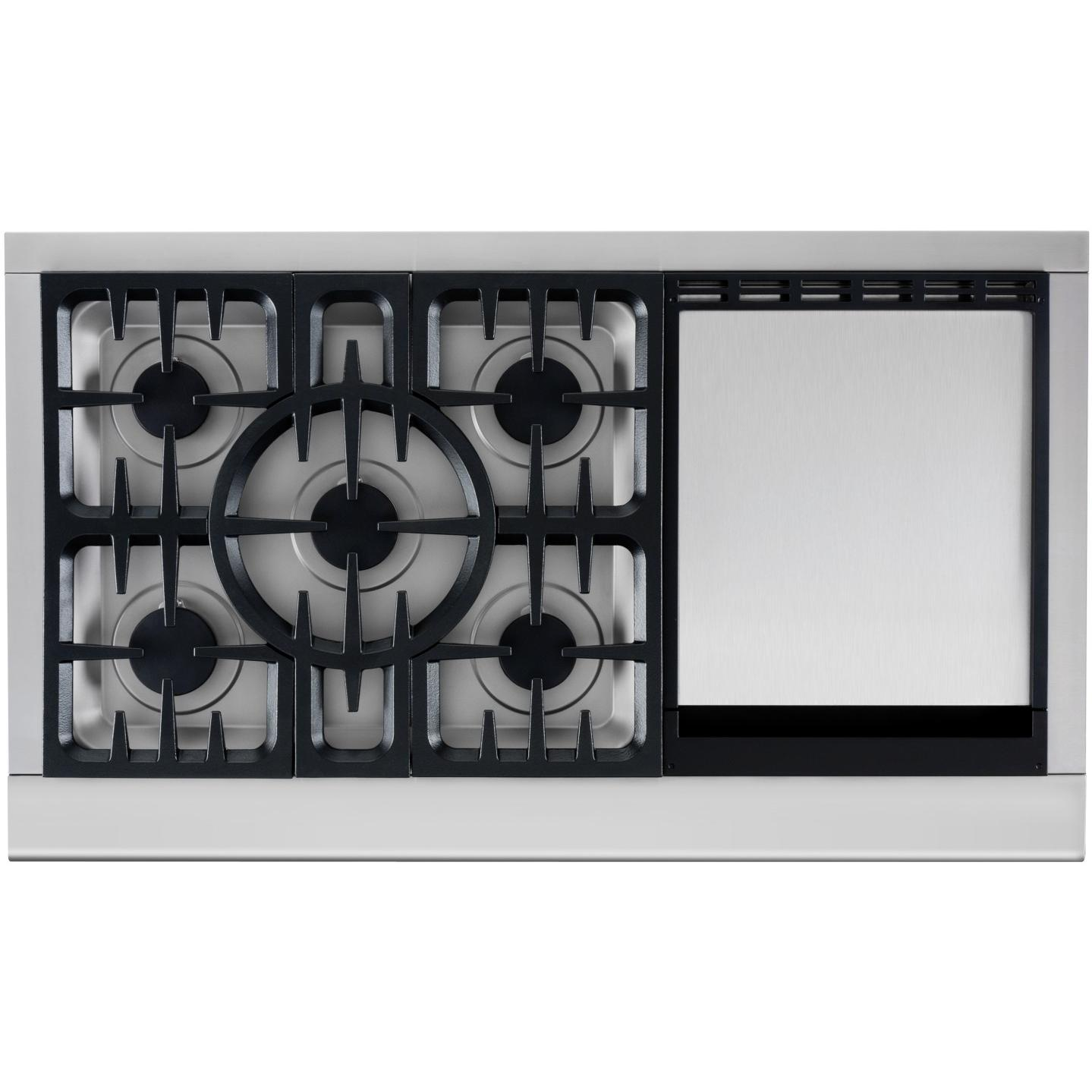 DCS CPU485GDL 48-Inch Propane Gas Cooktop With Griddle By Fisher Paykel