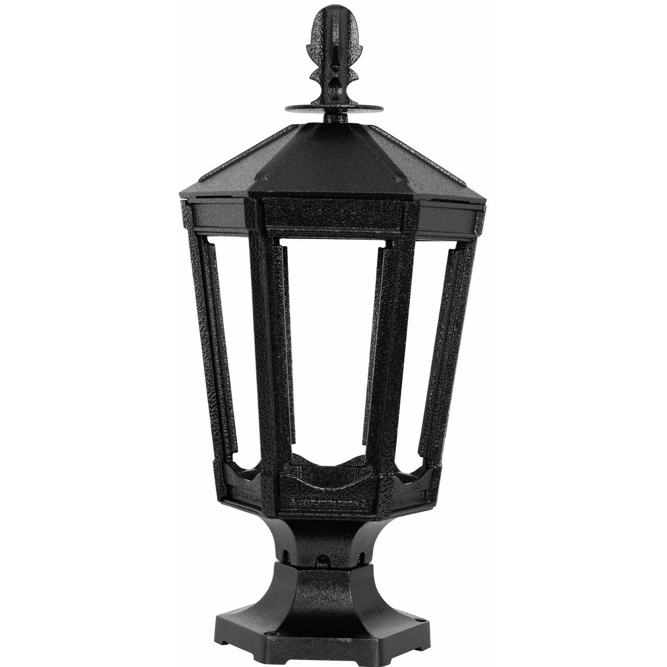 Picture of American Gas Lamp Works GL1000 Cast Aluminum Manual Ignition Natural Gas Light With Dual Mantle Burner And Pedestal Mount