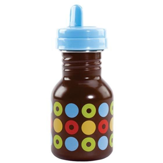 Elegant Baby Circle Collection Toddler Sippy Bottle - Blue