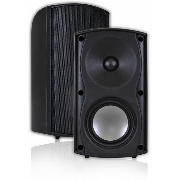Picture of OSD Audio 4-Inch Waterproof Outdoor Patio Speakers - Black