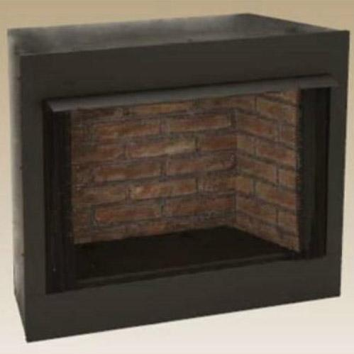 Monessen GRUF32C-F 32-Inch Radiant Face Circulating Vent-Free Firebox With Cottage Clay Firebrick