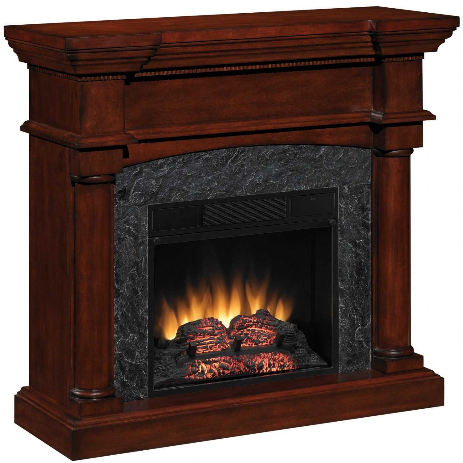 ClassicFlame 18DM2105-M319 Marthas Vineyard 18 Inch Dual Use Electric Fireplace - Antique Mahogany