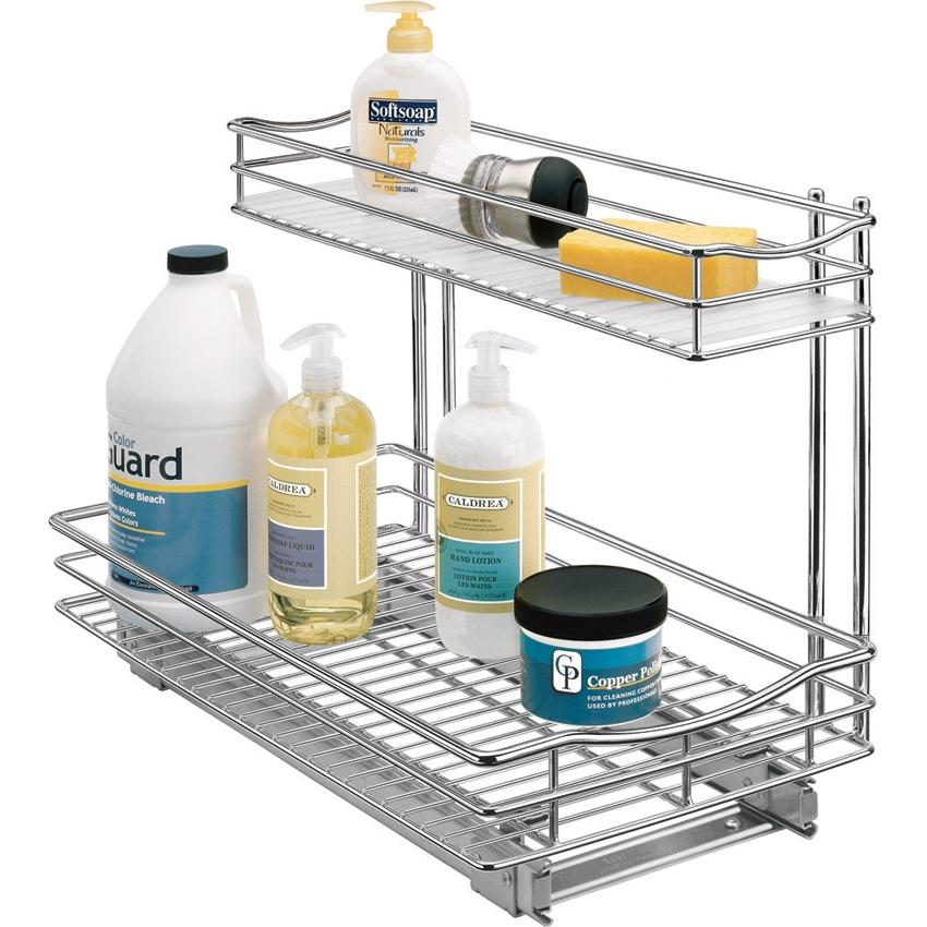 Lynk 11 x 18 Roll-Out Under Sink Storage Drawer- 451118DS