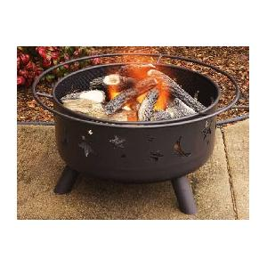 Firegear Starry Night 24-Inch Portable Outdoor Propane Gas Fire Pit