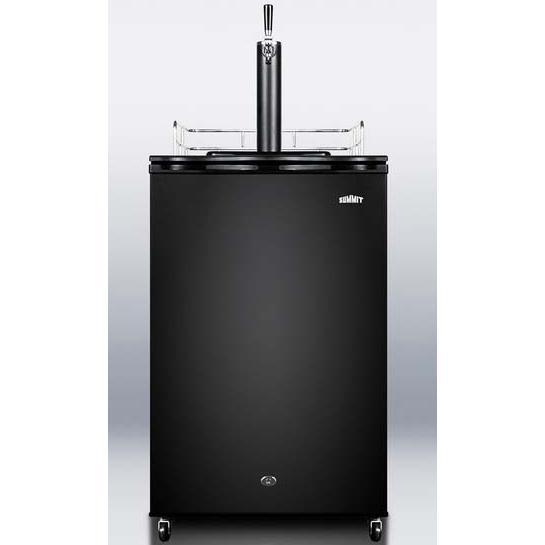 Summit Kegerators Black Beer Dispenser SBC570B