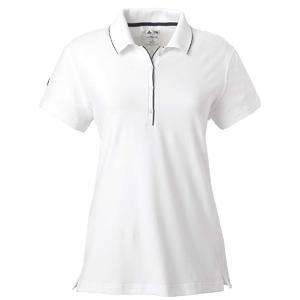 Adidas Golf Ladies ClimaLite Tour Jersey Short Sleeve Polo Shirt 2XL - White/Black