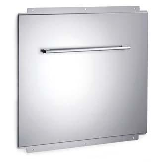 Bertazzoni 36 Inch Wallmount 31 Inch High Backsplash With Utensil Bar BS36CONX - Master Series