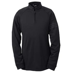 Adidas Golf Mens Performance 1/2-Zip Training Shirt 2XL - Black