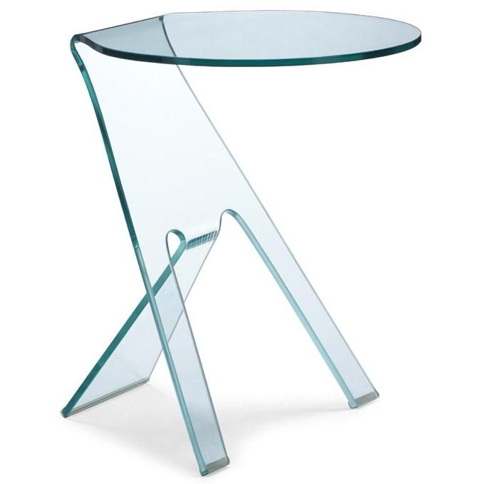 Zuo Modern - Journey Side Table Clear - 404105