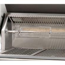 Alfresco ALXE 30-Inch Freestanding Natural Gas Grill On Deluxe Cart With Sear Zone And Rotisserie - ALXE-30SZCD-NG Alfresco Gas Grills ALXE 30-Inch On Deluxe Cart Sear Zone NG Grill - Rotisserie