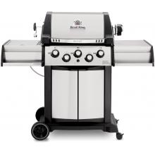 Broil King Signet 90 3-Burner Freestanding Propane Gas Grill With Rotisserie & Side Burner - Stainless Steel