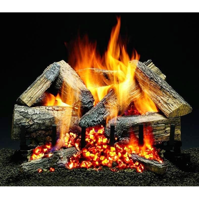Firegear 18-Inch Mr. Maple Vented Log Set Without Burner