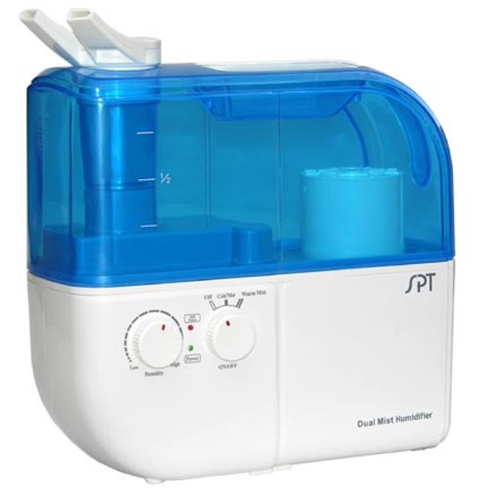 Sunpentown Dual Mist Humidifier With ION Exchange Filter - SU-4010
