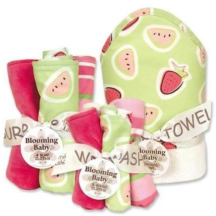 Trend Lab 10-Piece Baby Gift Set - Juicie Fruit