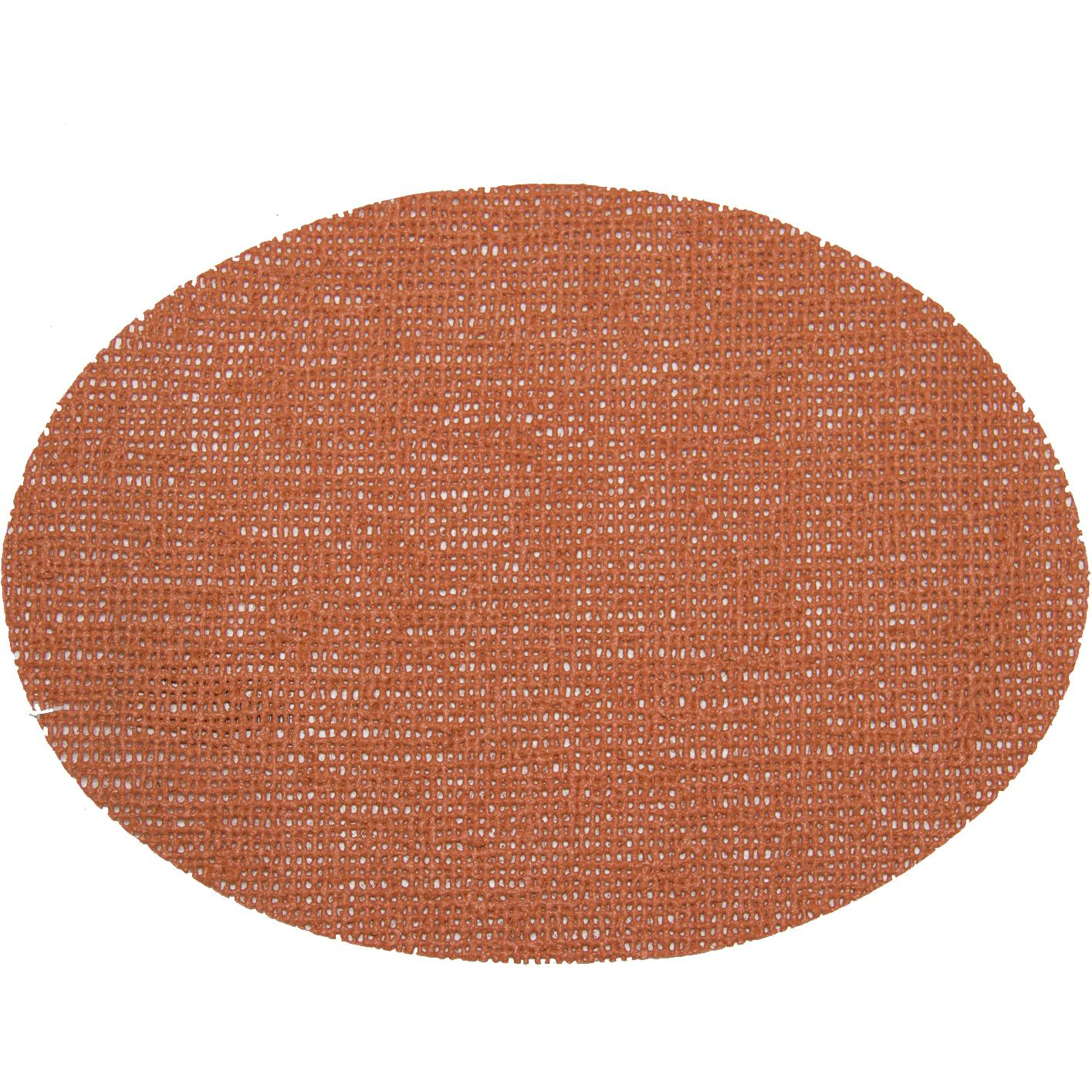 Picture of Fishnet Placemats 18 X 13 Oval Placemat - Cinnamon