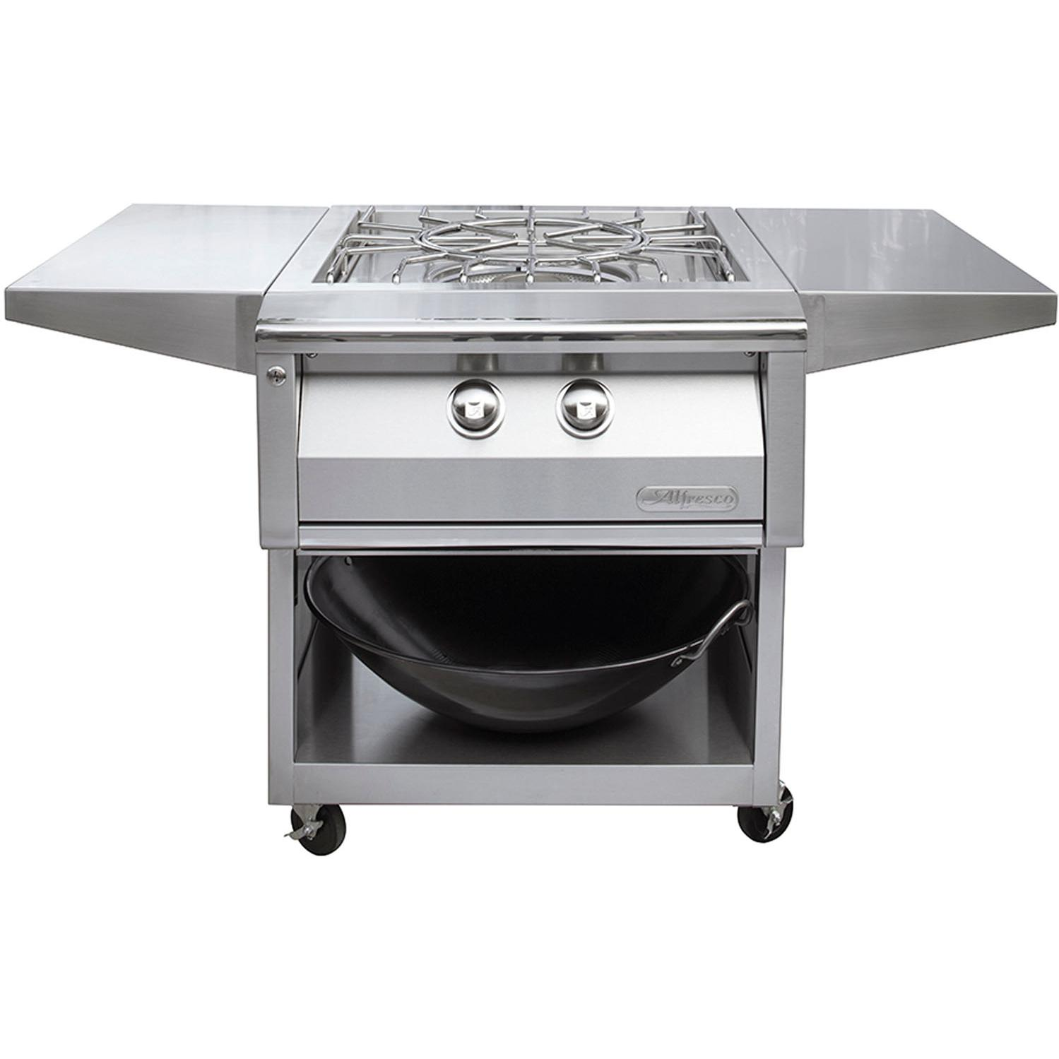 Picture of Alfresco 24-Inch Cart For Versa Power Cooker - AXEVP-C