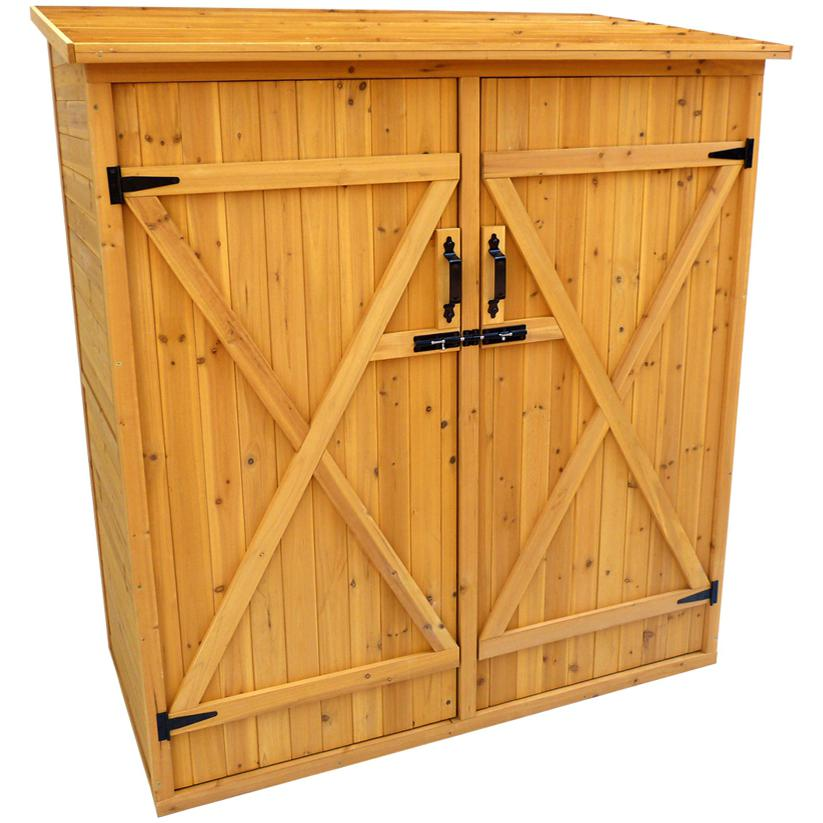 Picture of Leisure Season 4 Ft. 11 In X 2 Ft. 7 In. Medium Wood Storage Shed